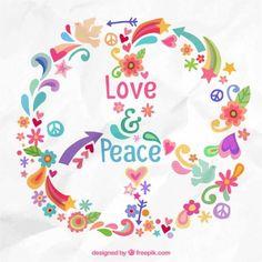 Peace Sign Art ✌❤