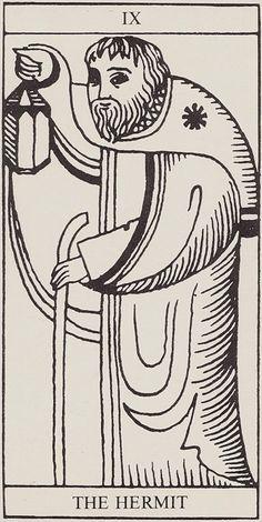 IX. The Hermit: Rolla Nordic Tarot