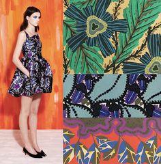 print trends resort 2014 michael van der ham 1 Print Trends   Art Deco Botanicals
