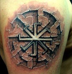 Славянские татуировки для мужчин и их значение
