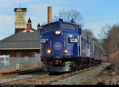 RailPictures.Net Photo: PAR 1 Pan Am EMD FP9 at Athol, Massachusetts by Kevin Burkholder. - On November 15, Pan Am operated an office car special from Worcester to East Deerfield Yard, Massachusetts, then north on the Connecticut River Line to East Northfield, MA to inspect the rail work that has been ongoing. The train - OCS-15 - is seen rolling through Athol, MA on the way to East Deerfield on the first leg of the trip.