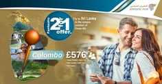 Fantastic 2-for-1 offer ✨  | Fly to Sri Lanka in the unique comfort of Oman Air. ✈  |  Destination :- Colombo  | Airline : Oman Airways ✈  | Book Before : 15th Jun 2016   | Travel From : Jun – Jul   | Colombo From £576  (2 Person)   |   Call us: 0203 811 2447  |  Visit for more details: http://www.callcheapflights.co.uk/  |  #callnow  #booknow  #srilanka  #colombo  #omanairways #flights #bookcheapflights #cheapflightstosrilanka  #cheapflightstocolombo
