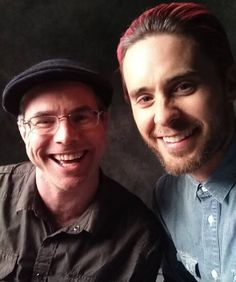 Andy Weir Got interviewed by Jared Leto today. Pretty cool. He asked questions no one else has asked me and got me to talk about stuff I don't usually discuss. He's a very incisive interviewer.