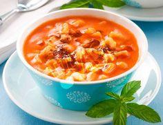 Yüksük Çorbası | Lezzet Odası Cheeseburger Chowder, Thai Red Curry, Soup, Ethnic Recipes, Soups