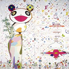 "There aren't many artists in the world more popular than Takashi Murakami. He started his own new Japanese pop art movement, ""superflat"", wh. Superflat, Takashi Murakami Prints, Louis Vuitton Pattern, Tokyo, Louis Vuitton Online, Art Japonais, Japanese Artists, Art Market, Art World"
