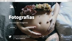 web design | http://itrynottothink.com | With @bedebele ´s belly ;)
