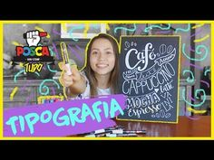 (1) Como fazer TIPOGRAFIA com POSCA - POSCA vai com tudo - YouTube