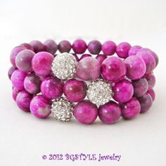 Bangle Bracelets, Bangles, Pink Agate, Fall Jewelry, Crazy Lace Agate, Fashion Jewelry, Stud Earrings, Jewels, Crystals