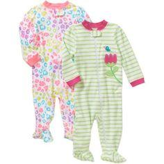 59ee77db8 Carter s® Zebra Footed Pajama