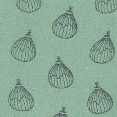 Stoff & Stil - Chiffon m/Luftballons Staubgrün  Pr. Meter 9,35