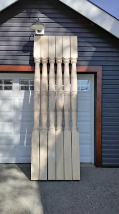These are a custom pattern. Porch Posts, Water Bottle, Pattern, Home, Patterns, Ad Home, Porch Columns, Water Bottles, Homes