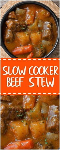 Slow Cooker Beef Stew  #whole30 #foodlover #homecooking #cooking #cookingtips