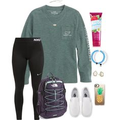 What is your favorite month? by tessabear-prepster on Polyvore featuring polyvore, fashion, style, NIKE, The North Face, Kendra Scott, Casetify, Vans and clothing