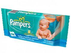 Lenços Umedecidos Pampers Baby Care - 64 Unidades com as melhores condições você encontra no Magazine Raimundogarcia. Confira!