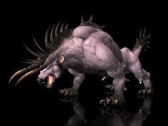 Monster Creature Kanjar 3D model
