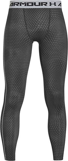 d0d8a97640 Amazon.com : Under Armour Men's HeatGear Armour Printed Compression Leggings  : Sports & Outdoors