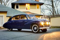 Tatra T87 - 1950 Vehicles, Car, Automobile, Rolling Stock, Vehicle, Cars