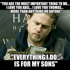 Jax concludes writing to his sons