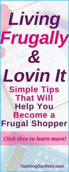 Living frugally and lovin it. Ten Quick Tips To Help You Become a Frugal Shopper And Save More Money. Click thru for more information! Money Saving Meals, Save Money On Groceries, Ways To Save Money, Money Tips, How To Make Money, How To Become, Living On A Budget, Frugal Living Tips, Frugal Tips