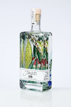 Perfect Packaging for a Mystical Spiritual and Vibrant Botanical Gin - World Brand Design - Coffee Packaging, Beverage Packaging, Bottle Packaging, Brand Packaging, Design Packaging, Chocolate Packaging, Food Packaging, Packaging Ideas, Gin Bottles