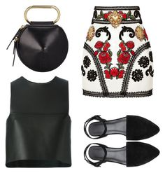 """""""day time chic"""" by michelanna ❤ liked on Polyvore featuring Dolce&Gabbana, 3.1 Phillip Lim, Fendi and floral"""