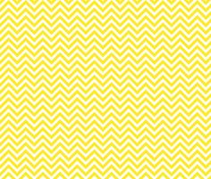 Yellow Chevron fabric by sweetzoeshop on Spoonflower - custom fabric