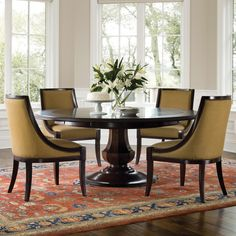 Sienna Round Dining Table and Chairs by Brownstone Furniture | Tables  Breakfast nook