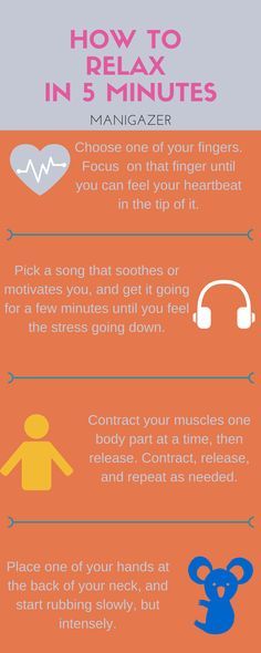 Want to feel completely relaxed in less than 5 minutes?