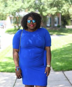 Our girl, Vivi doing her thing in an #avenueplus dress! Check her out here: http://www.heartprintandstyle.com/