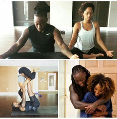 Relationship Goals: black couple meditate and yoga Black Girls Rock, Black Girl Magic, Black Art Pictures, Christian Relationships, Black Is Beautiful, Beautiful Paris, Relaxation Techniques, Black Couples, Love Can