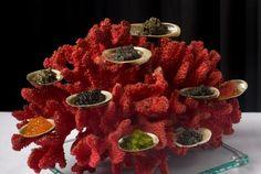 The new caviar presentation at Tru