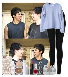 """""""Michael Clifford & Calum Hood"""" by irish26-1 ❤ liked on Polyvore featuring Topshop, adidas, PurMinerals, NARS Cosmetics, Casetify and ASOS"""