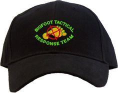 Bigfoot Tactical Response Team Embroidered Baseball Cap