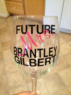 I need this!! Future Mrs. Brantley Gilbert. @Holly Hanshew Elkins Elkins Hargis♥