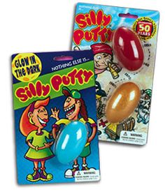 Silly Putty! How therapeutic, hahah...