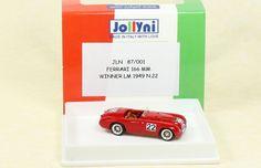 FERRARI 166 MM - WINNER LE MANS 1949 #22 - JOLLYNI 1:87 - JOLLY MODEL