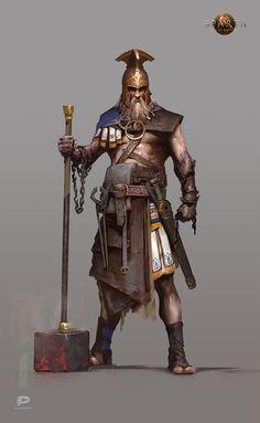 Fantasy Art Warrior, Fantasy Armor, Medieval Fantasy, Dark Fantasy, Fantasy Character Design, Character Inspiration, Character Art, Greek Soldier, Roman Armor