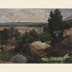 Landscape by Paul Cézanne