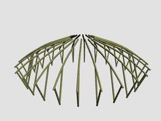 Bamboo Shelter on Behance