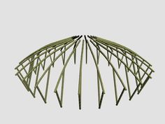 Bamboo Shelter on Behance