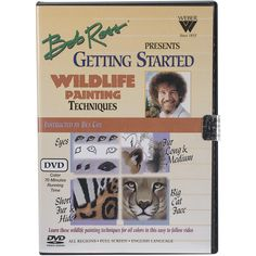 Bob Ross Wildlife Painting Techniques DVD-
