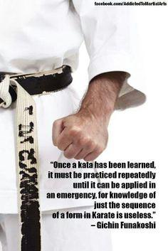 -Gichin Funakoshi father of modern day karate Kyokushin Karate, Kenpo Karate, Martial Arts Quotes, Martial Arts Styles, Mixed Martial Arts, Karate Training, Martial Arts Training, Mma Training, Aikido
