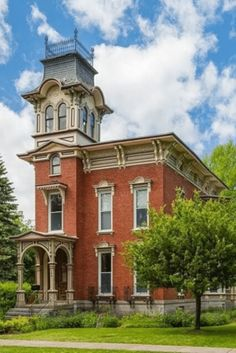 Architecture Old, Classical Architecture, Historical Architecture, Victorian Architecture, Abandoned Houses, Old Houses, Nice Houses, Watertown New York, Dream Properties