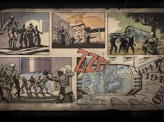 Call of Duty : Black Ops / Comics book zombie.