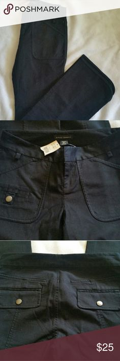 0P banana Republic cotton stretch pants 0 petite Banana republic Black pants  Size 0 petite  New with tags 97% cotton, 3% spandex  ?open to reasonable offers on all my listings..I will have a lot of item im looking to clear out asap.? I will be adding items daily. Will do discounts on bundles? Banana Republic Pants Boot Cut & Flare