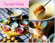 Flour, Sugar Free Blueberries and Oatmeal Cake - Recipe Center Best Fondue Recipe, Fondue Recipes, Cake Recipes, Cooking Recipes, Food Cakes, Cupcake Fondue, Recipe Center, Oatmeal Cake, Cupcakes