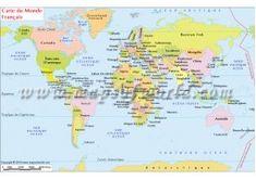 Buy Spanish World Map online World In French, World Map Online, Usa Road Map, Albanian Language, Arabic Language, Full World Map, World Geography Map, Alaska, World Political Map