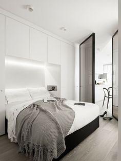 Luna Apartments / Elenberg Fraser  #beds #bedroomfurniture