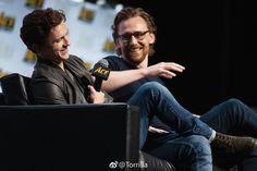 Tom Hiddleston. #ACEComicCon 2018. Via Twitter.