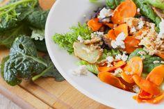 A wonderful fall salad using seasonal ingredients. #WFD2012 @oxfamamerica #TML